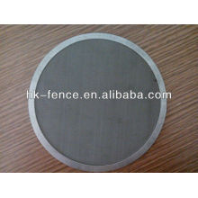 covered edge filter wire mesh (professional factory)