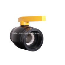 Hohe Qualität PE Rohrverschraubungen Kupfer Kugelhahn