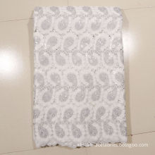 White Lace Fabric For Wedding Dresses , Primer Shirt