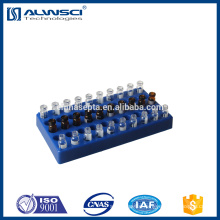 blue Polypropylene rack 2ml hplc vial rack with 50 positions
