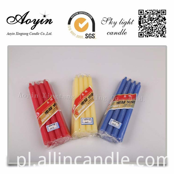 14g color candle