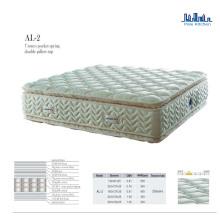 Muebles de dormitorio Cómoda colchón de muelles de bolsillo