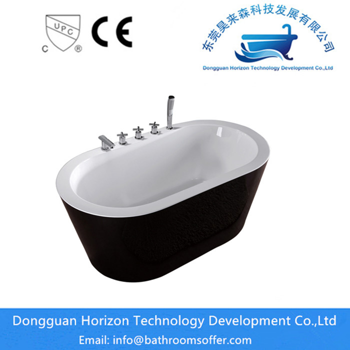 freestanding oval tub