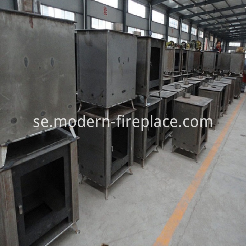 Wood Cookers Burning Production