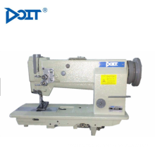DT 4420 customized compound feed flat bed double needle heavy duty leather bags making industrial sewing machine