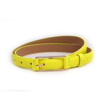 Children candy color fashion PU belt