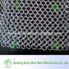Scrubber de limpeza de aço para panelas de limpeza de panelas e panelas