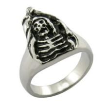 Joyería Chic nuevo anillo clásico retro cráneo