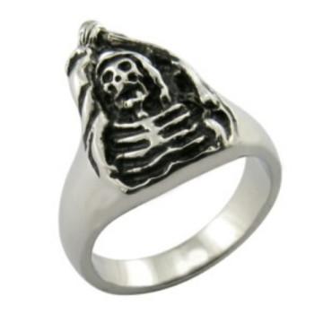 Jewelry Chic New Retro Classical Skull Ring