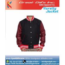 Regular Fit Print Pattern für Herren Casual Baseball Varsity Jacket