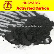Carbón activo a base de madera en polvo para la industria azucarera