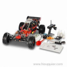 15 Scale 2wd Gas Baja Buggy 26cc Rc Car With Sway Bar Set