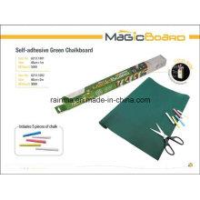 Selbstklebende grüne Tafel für Shool und Bürobedarf