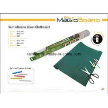 Self-Adhesive Green Chalkboard for Shool and Office Supply