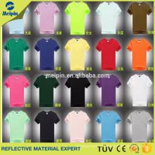 OEM Design fashion t-shirt reflective design your own shirt