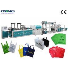Plc Automatic Non Woven Bag Making Machine For Non Woven Bag Handle Bag