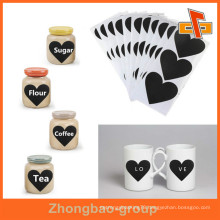 Plastic Adhesive Private Design Logo Printing Label Brands For Cup