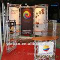 10'x20' aluminium truss modular exhibition stall, trade show stall, trade fais stall