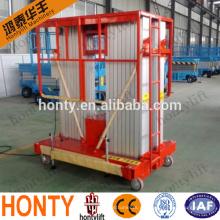 plataforma elevadora de material / plataforma elevadora de aluminio de limpieza plataforma elevadora / plataforma elevadora de aluminio de limpieza ajustable