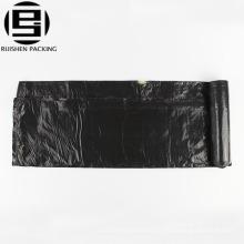 Рпи биоразлагаемый дешевые пластиковые черный шнурок мешки для мусора