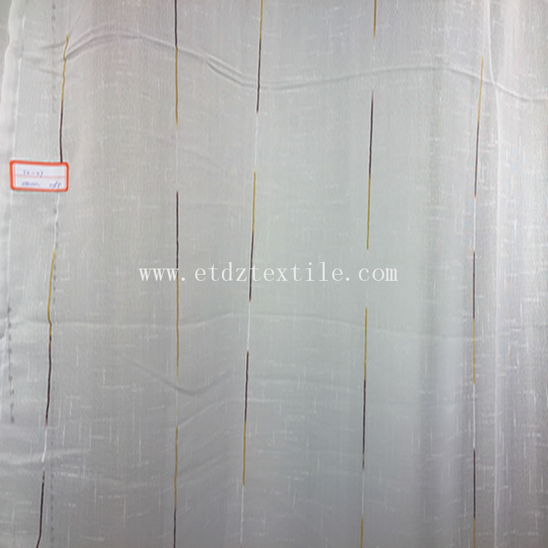 Hot Typical Sheer Voile Curtain Fabric