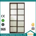 Fertigen Sie Innenraum / Büro-Tür mit Glas besonders an