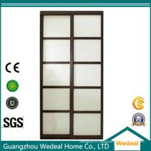 Personnaliser la pièce intérieure / porte de bureau avec le verre