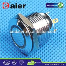 Daier GQ16F-10E Momentané LED bouton-poussoir