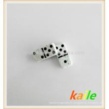 Double six domino effet marbre vert