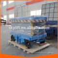 Elevador de tijera hidráulico móvil