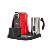 Máquina de café la cápsula con espumador de leche