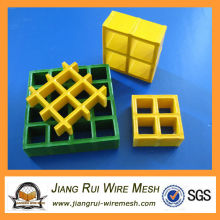 Вогнутая поверхность FRP Стеклопластиковая решетка (завод Китая)
