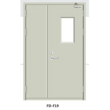 Ce Fire-Proof Steel Door for Poland (F19)