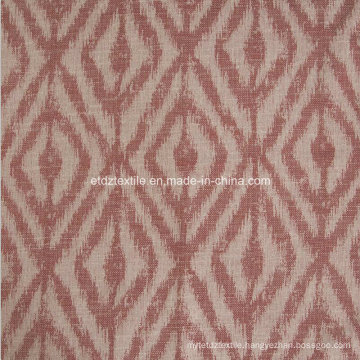 2016 New Morden Polyester Piece Dyed Linen Like Curtain Fabric