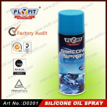 Agent de démoulage de lubrifiant à l'huile de silicone à vaporiser