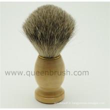 Man's Helper Top Hair Satisfait de la poignée de la brosse à raser