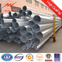Multi Side 15kn Galvanized Steel Electric Pole with Cross Arm