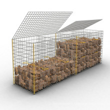 Corrosion resistant heavy galvanized gabion mesh box