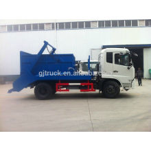 3-6 cubic meter Dongfeng Furuika swing arm garbage truck for sale