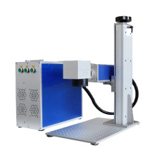 Gold marking factory direct price fractional co2 laser on metal material printing machine