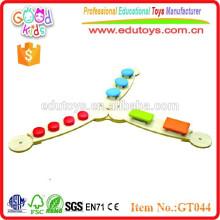 2015 nuevo juguete sensorial de madera sólida del diseño caliente para la venta