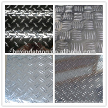 1 bar aluminum embossed plate