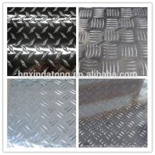 placa quadriculada de alumínio 3003 3004