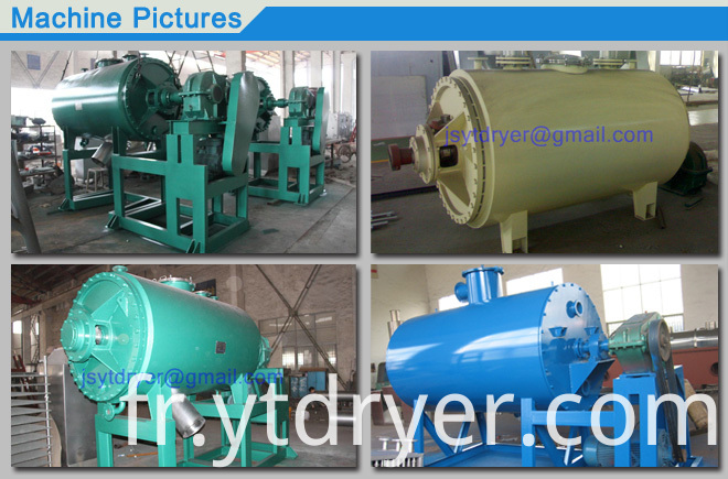 Vacuum Harrow Dryer
