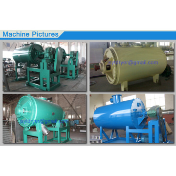 Vacuum Drying Equipment with expanding harrow