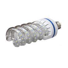 Energy saving 2700-6500k SMD COB 24w led spiral shape bulb