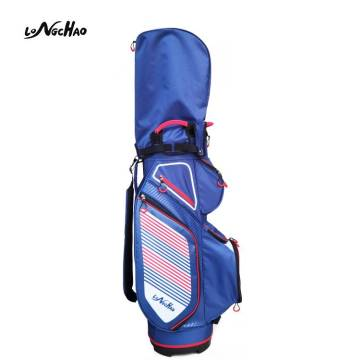 2020 hot sale China Blue golf bag Easy storage equipment Golf Clubs Bags