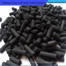 Carvão activado em coluna de carvão de 3,0 mm para tratamento de esgoto