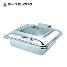 C059 Todos os Tipos Atacado Porco Roldo Induzido Chafing Dishes Para Catering À Venda