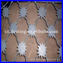 Used plum blossom barbed wire mesh fence used fencing for sale cheap fencing panel Metal gates High qulity with good price